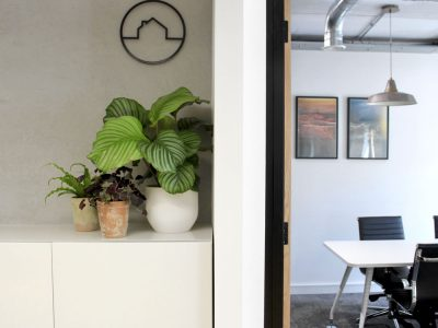Office Plant Install